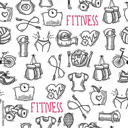 fitness-szkic-czarno-bialy-wzor