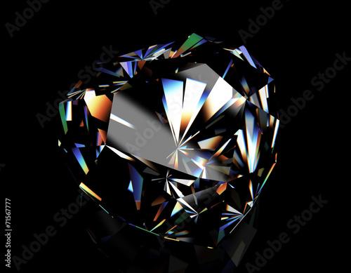 Tuinposter Diamond. Fashion Jewelry background