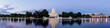 canvas print picture - Panorama of the United Statues Capitol, Washington DC, USA.