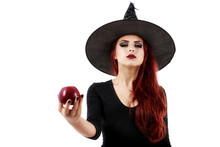 Tricky Witch Offering A Poison...