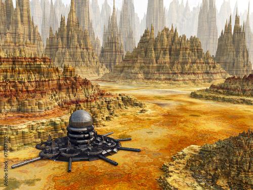 Fantasy landscape - 71587385