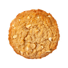 Peanut Butter Cookie Isolated