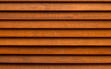 Brown Wooden Curtain.