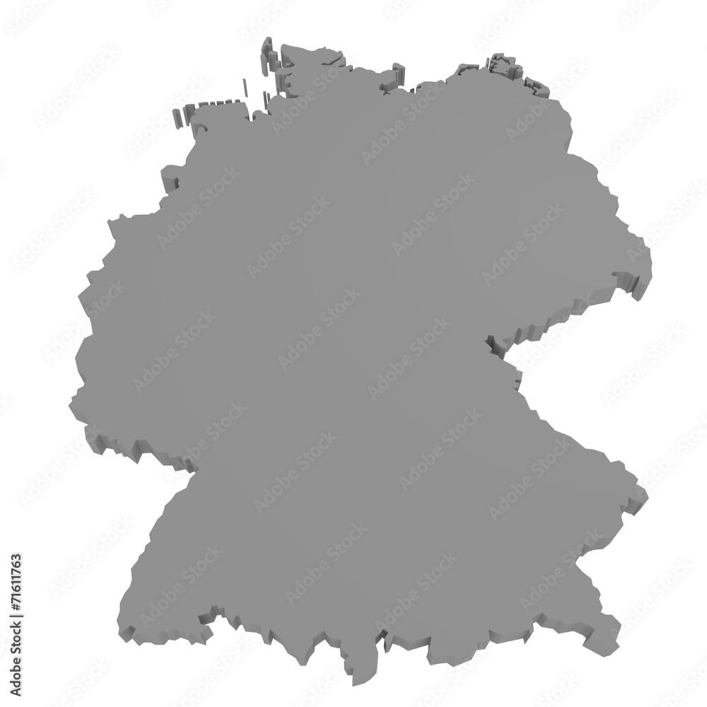 Gamesageddon Stock Deutschland Karte 3d