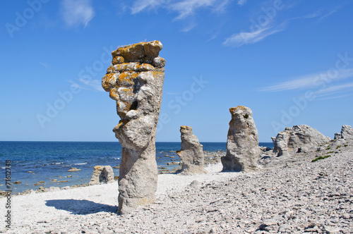 Photo  Gotland rocks