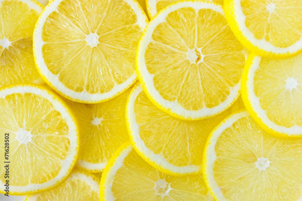Fototapeta lemon slice