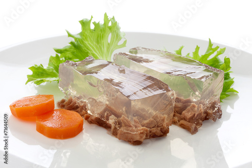 Photo Beef aspic