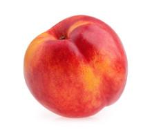 Nectarine Fruit Isolated