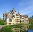 Fabulous castle Lesna, Zlin, Czech republic
