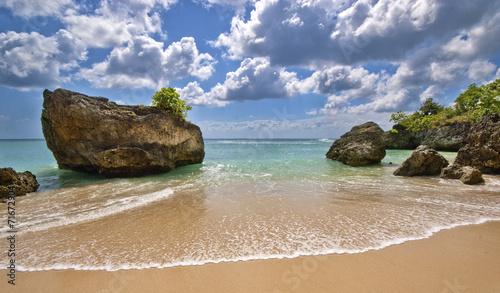 Foto op Canvas Bali Padang Padang Beach