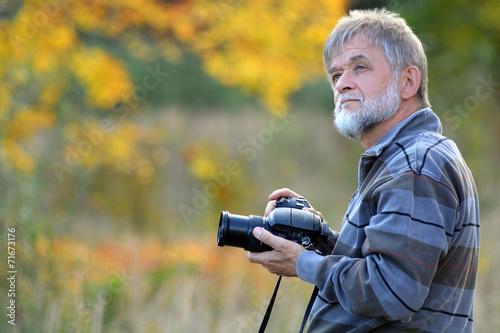 Fotografia  Mann mit Kamera