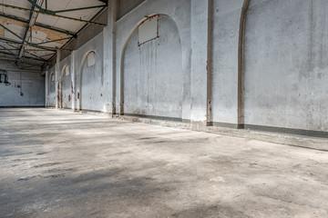 Fototapetaalte fabrikhalle 2