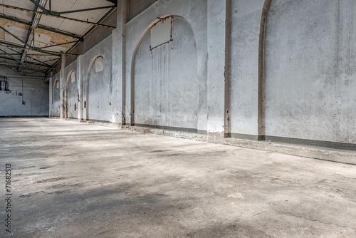 Staande foto Industrial geb. alte fabrikhalle 2