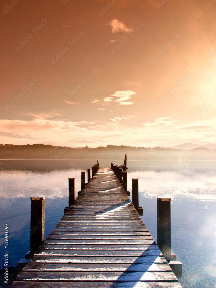 Fototapeta wooden jetty (64)