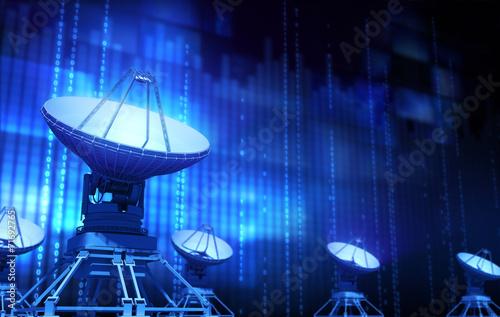 Fotografie, Tablou  Satellite Dish
