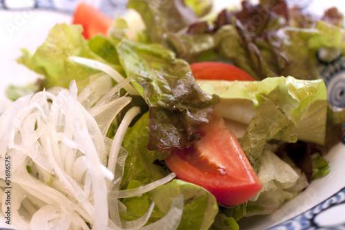 Fotografie, Obraz  Salat mit liebe garniert