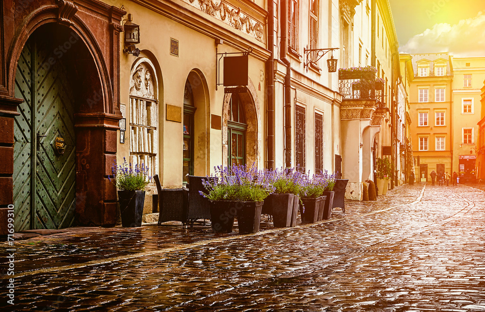 Fototapety, obrazy: Krakow - Poland's historic center