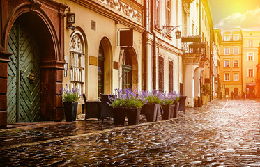 FototapetaKrakow - Poland's historic center