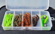 Opened Box With Fishing Baits