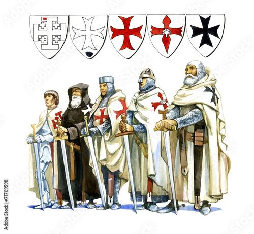 Knights Templar Wallpaper Mural