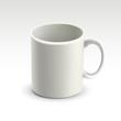 blank classic white mug
