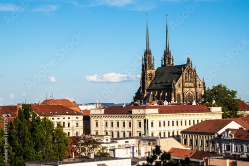 фотография  St, Peter and Paul cathedral in Brno
