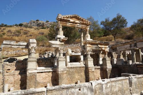 Deurstickers Rudnes EPHESUS, Turkey, Europe