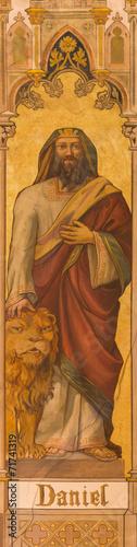 Trnava - The neo-gothic fresco of prophet Daniel Fotomurales