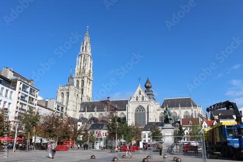 Papiers peints Antwerp Cathedral of our Lady, Antwerpen, Belgium