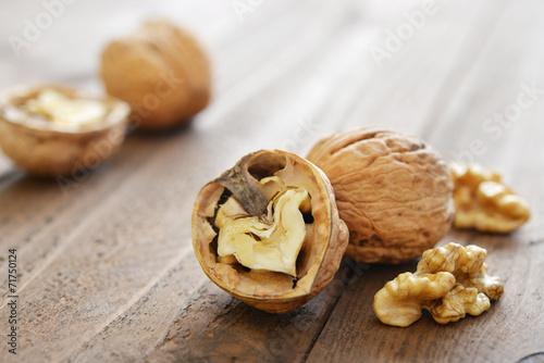 Fotografía  Walnut kernels