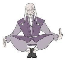 Old Man Meditation