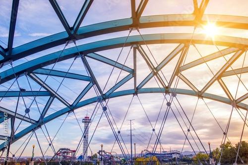 Fotomural Speer Boulevard Bridge