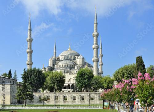Photo  Istanbul, Turchia, Moschea Blu Sultan Ahmet Camii