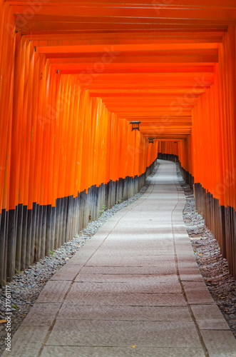 Fushimi Inari Taisha shrine in Japan