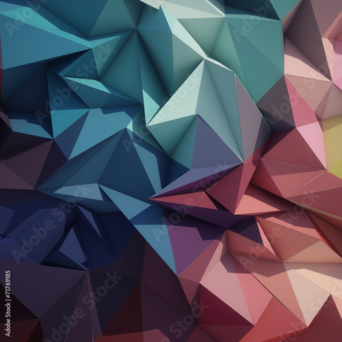Abstract geometric low poly background