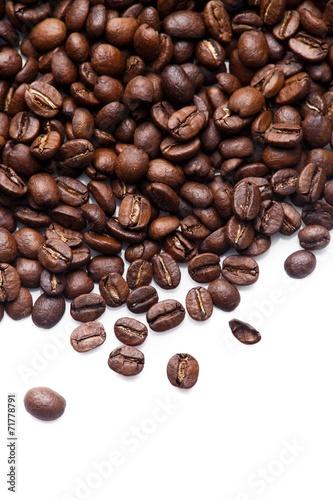 Photo sur Toile Café en grains roasted coffee beans