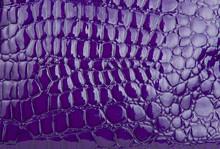 Purple Alligator / Crocodile Skin Leather (wallpaper,background)