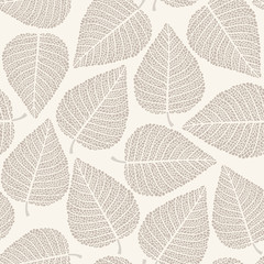 Obraz na Plexi Autumn seamless pattern