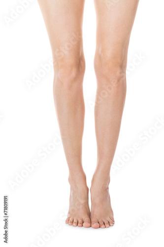 Elegant Long Bare Female Legs Buy This Stock Photo And Explore