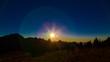 Sonnenuntergang in den Ammergauer Alpen