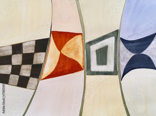 modernistyczna-abstrakcyjna-akwarela