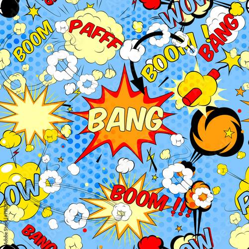 Plakaty Pop Art  comic-book-speech-bubbles