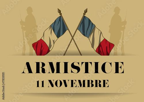 Obraz Armistice 11 novembre 14-18 - fototapety do salonu