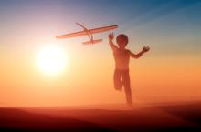 A Boy And A Plane