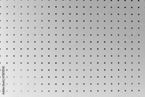 Fotografia, Obraz  Silber Grauer Hintergrund, gemustertes Aluminium
