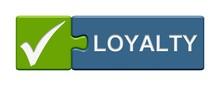 Puzzle Button Grün Blau: Loya...