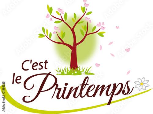 C Est Le Printemps Buy This Stock Vector And Explore Similar Vectors At Adobe Stock Adobe Stock