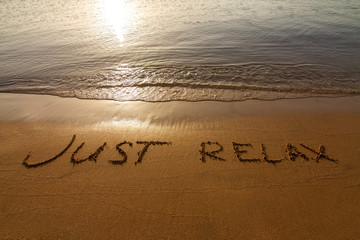 FototapetaJust relax