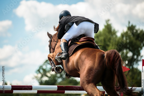 La pose en embrasure Equitation Equestrian
