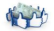 Like 3D banknoty
